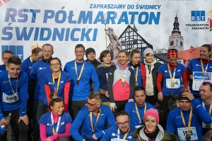 2. RST Półmaraton Świdnicki - 5.11.2016 - Marcin Czałkiewicz