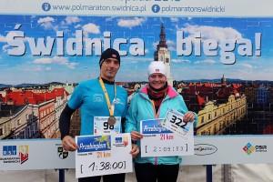 2. RST Półmaraton Świdnicki - 5.11.2016 - Radosław Werner